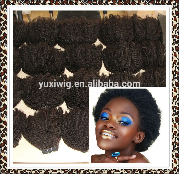 Cheap Afro Kinky Twist Real Human Hair Weave Extensions Buy
