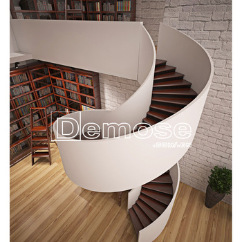 House Modern Safety Open Riser Floating Staircase