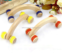 Color customer designed body wooden massage file factory supply health care products
