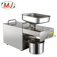 Mini Oil Press Stainless Steel Oil Extraction High Quality Seed Home Commercial Small Machine Oil Press
