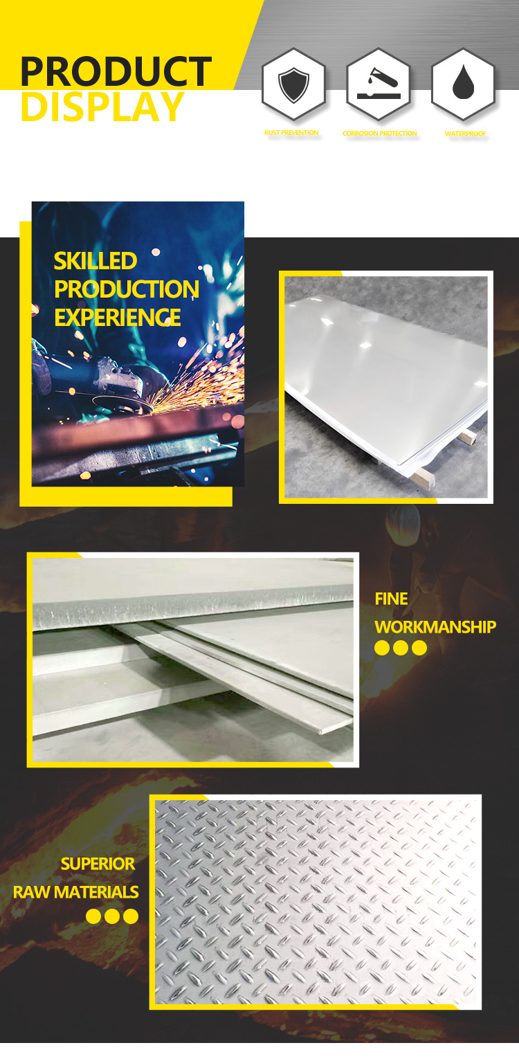 High quality SUS 304 316l 2205 stainless steel sheet / 304 stainless steel plate