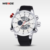 WEIDE China Supplier PU Leather Paypal Watches Men Alibaba Express WH3401
