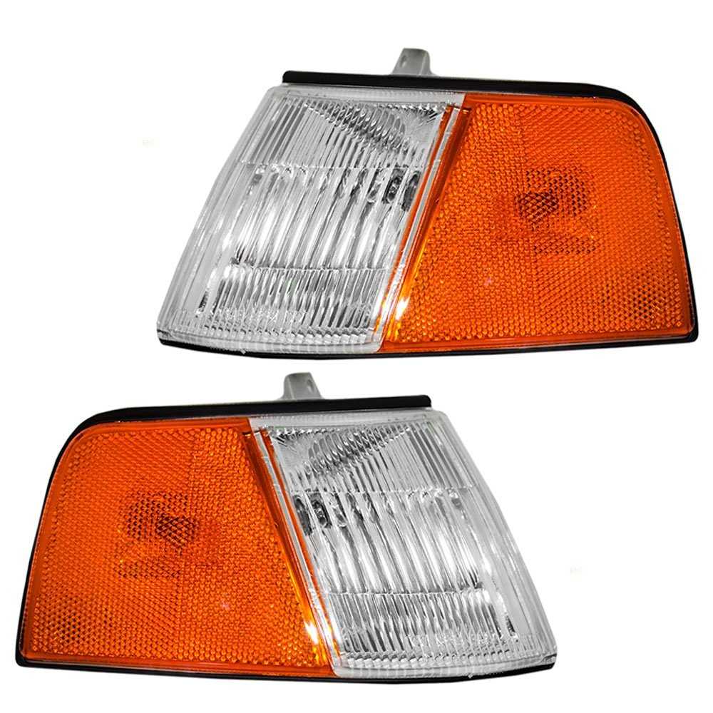 Drivers Park Signal Front Marker Light Lamp Lens Replacement for Chevrolet Pickup Truck 15077336