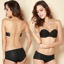 Bras Invisible Backless Bra Soporte Pegajosa