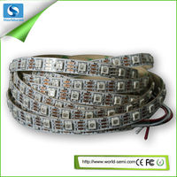 5m DC5V WS2812B led pixel srip,non-waterproof,96pcs WS2812B/M with 60pixels;BLACK/White PCB,only 4PIN