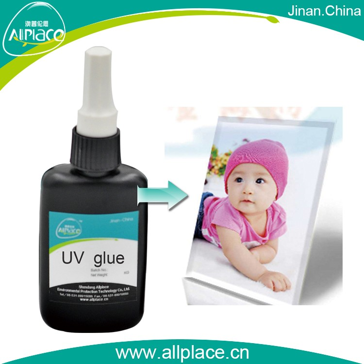 Fast setting and cost effective Glass Photo Album UV GLue Adhesive