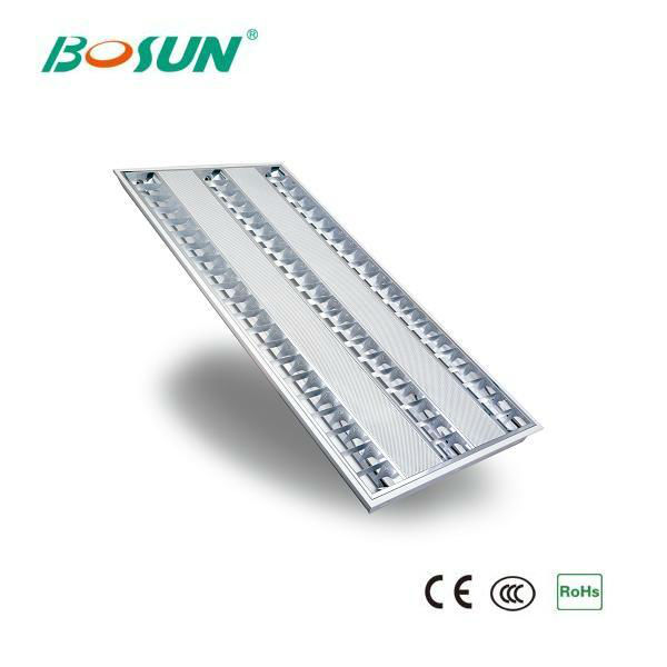 3x28W T5 Fluorescent Light Grill with Electronic Ballast