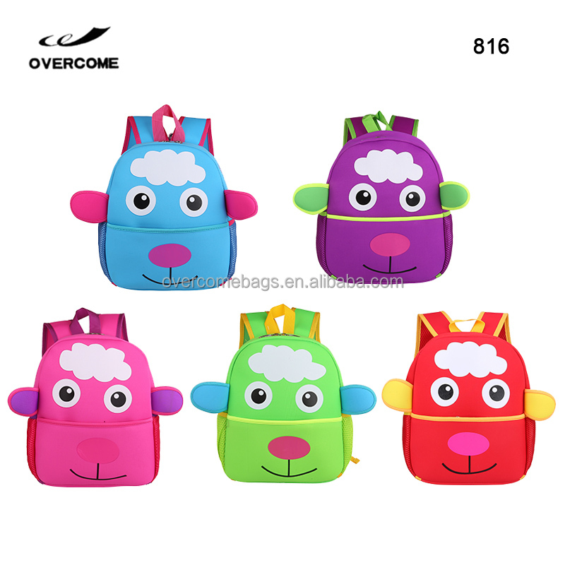 Kindergarten school bag kid infantil backpack children zoo mochila