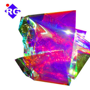22micron Iridescent Mylar Film Roll Makes Gorgeous Looks for Art Design