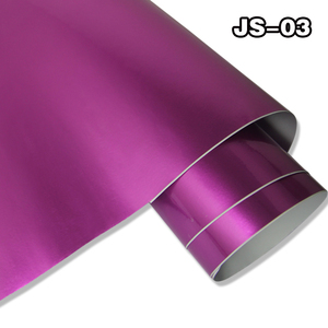 Car Clothes 1 52*20m import new styles air channel purple Self-adhesive  Glossy candy car body vinyl wrap Stickers wholesale