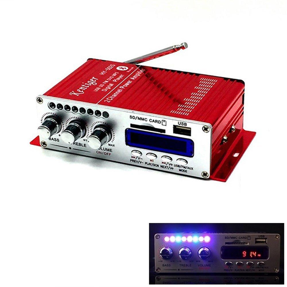 Cheap Radio Power Amplifier Find Deals On 20 Watts Rms Using Tda2004 Get Quotations Sallybest Mini Hi Fi 2 Ch Car Bluetooth Usb Sd Dvd Fm