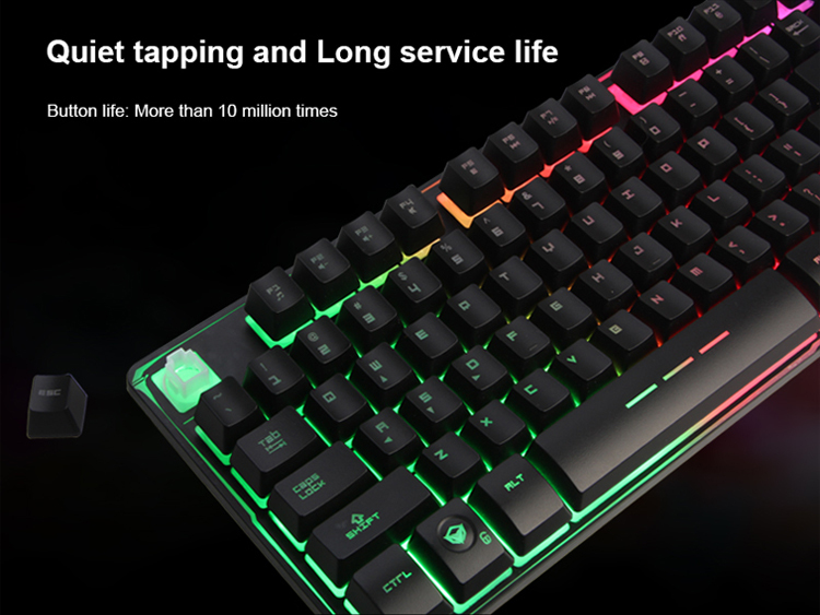 Backlit Computer Accessories Gaming Keyboard For Gamer