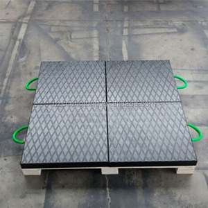 OEM service Logo uhmw crane outrigger support pad/ used crane outrigger pads/ price of crane outrigger pads