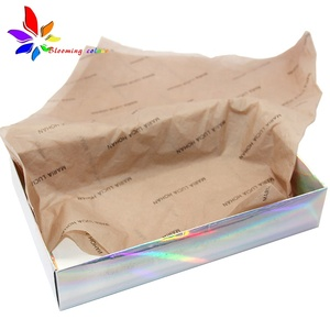Custom Printed LOGO Colored Paper Wrapping Gift Factory Wholesale Tissue Wrapping Paper