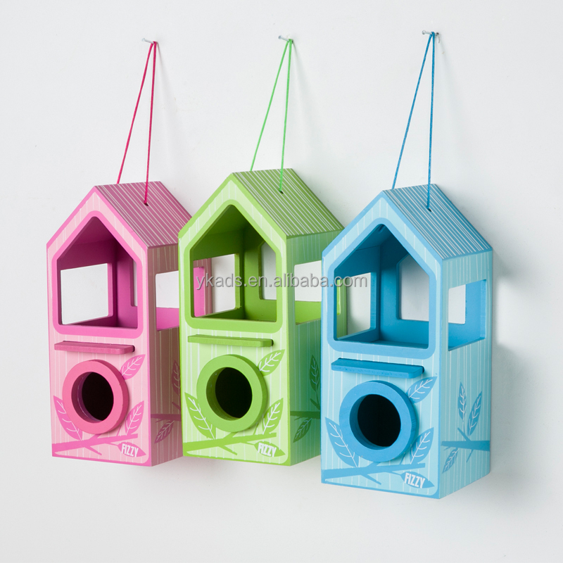 Customised wooden bird cages