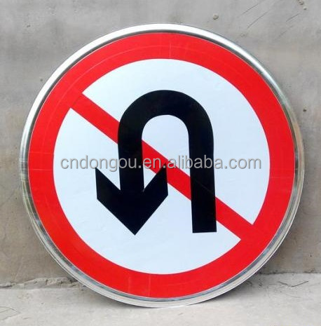 Cheap custom traffic sign reflective warning sign aluminum road safety sign