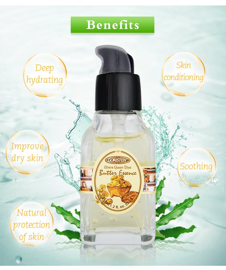 Good Supplier Face Serum Anti-aging Anti-wrinkle Whitening Ghana Queen Shea Butter Essence