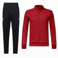 Sublimation high quality cheap soccer uniforms tracksuit