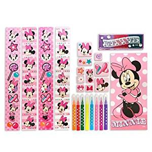Disney Minnie Mouse Stamp Set Creativity Kit Art Supplies with Carrying Case