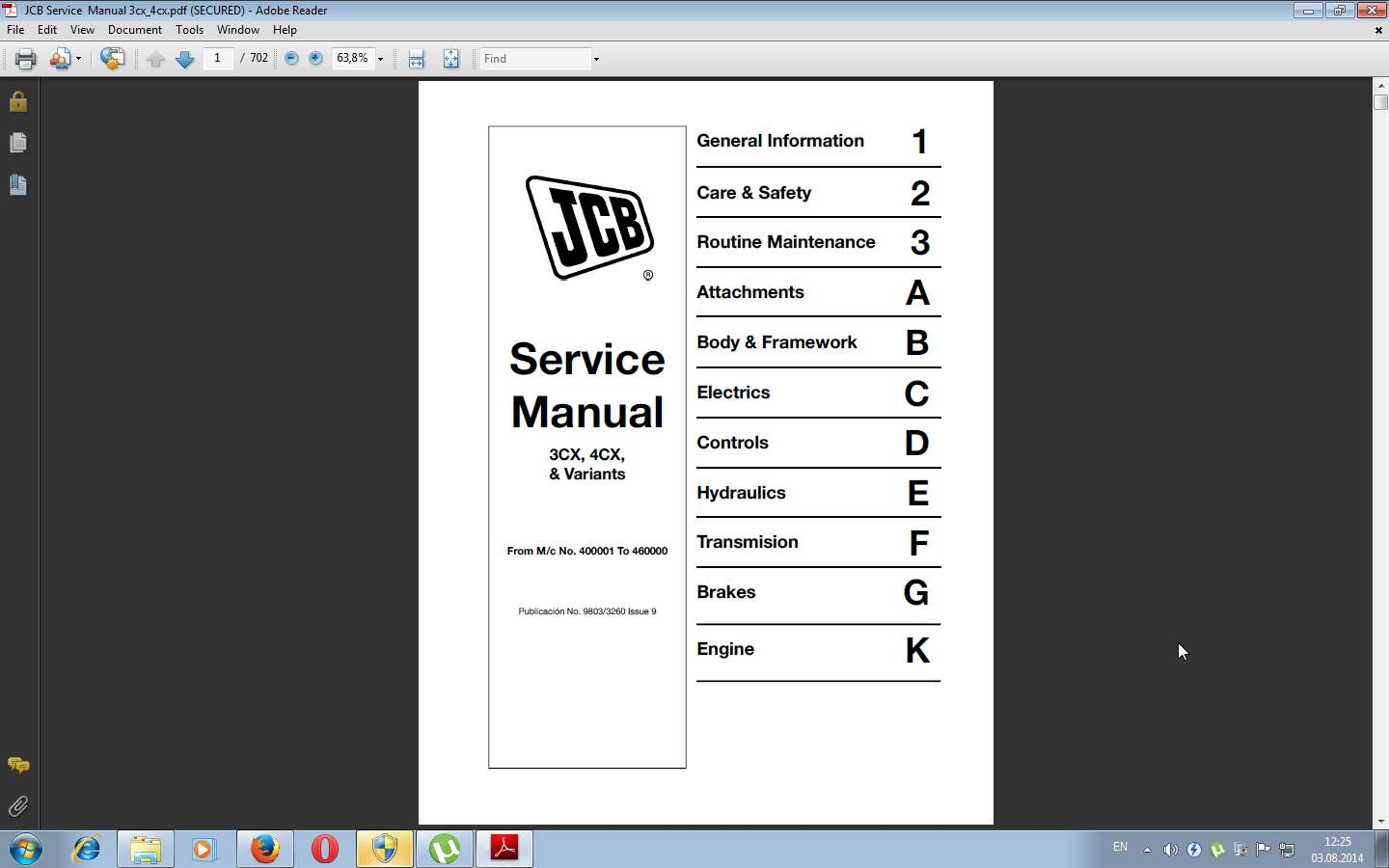 Jcb Service Manuals Repair,Schematics & Workshop All Models Extra Price on