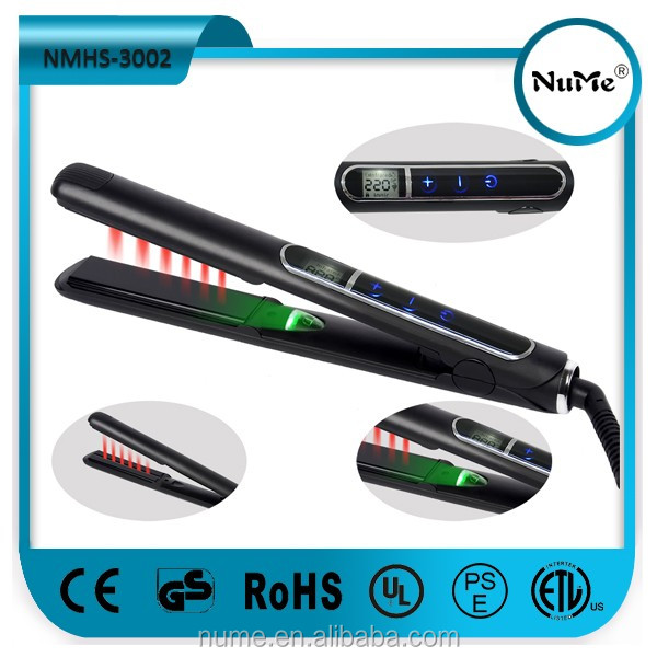 NMHS-3002 LCD negative ion hair straightener
