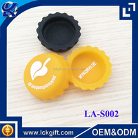 Silicone salt and pepper plastic water bottle caps for sale