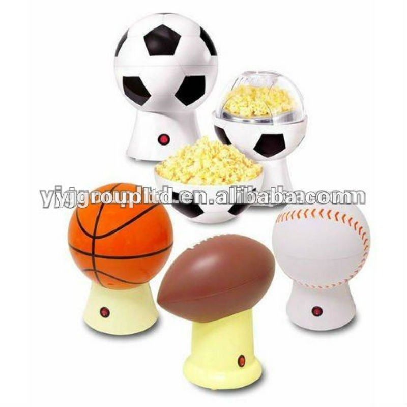 YJ-PCM1100 Home Or Party Use Football Logo Popcorn Maker