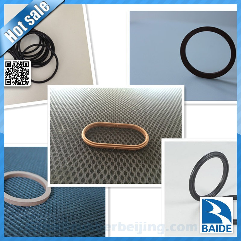 Customized viton/silicone/epdm/nbr oval gasket