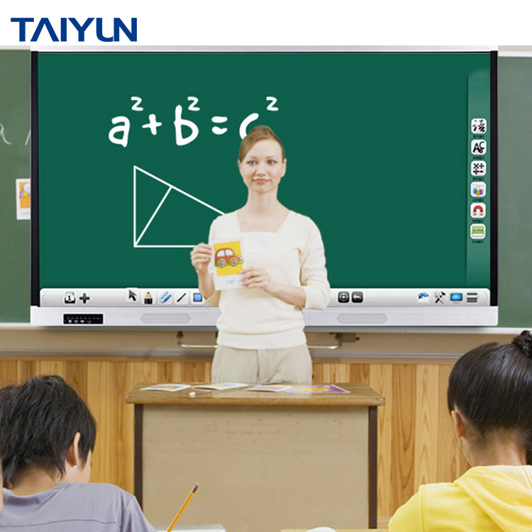 Alles in een touch screen interactieve smart board voor conferentie school teaching gebruik