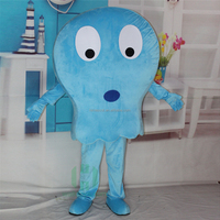 HI animal fish mascot costume for adult size,plush mascot costume with high quality