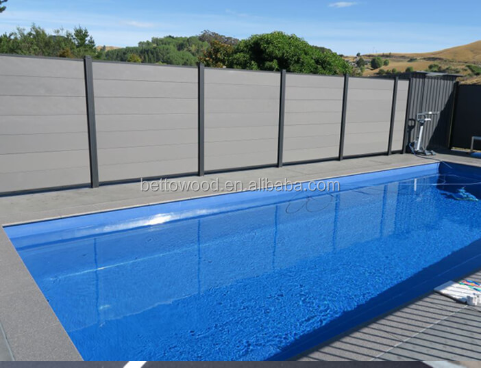 Composite Board Swimming Pool Fencing