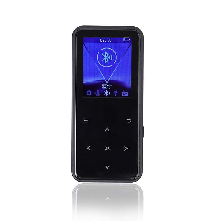 Blue tooth 4.2 dual headphone hole sports MP3MP4 player AGC Noise reduction digital voice recorder