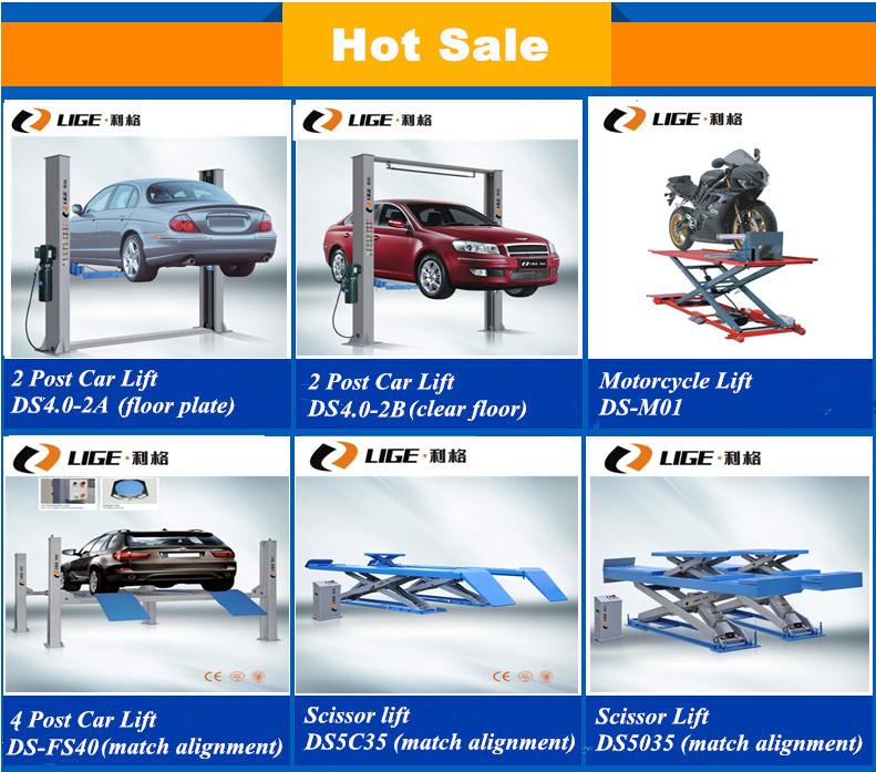 Two Post Vehicle Lift For Sale Hydaulic Mechanical Small Car