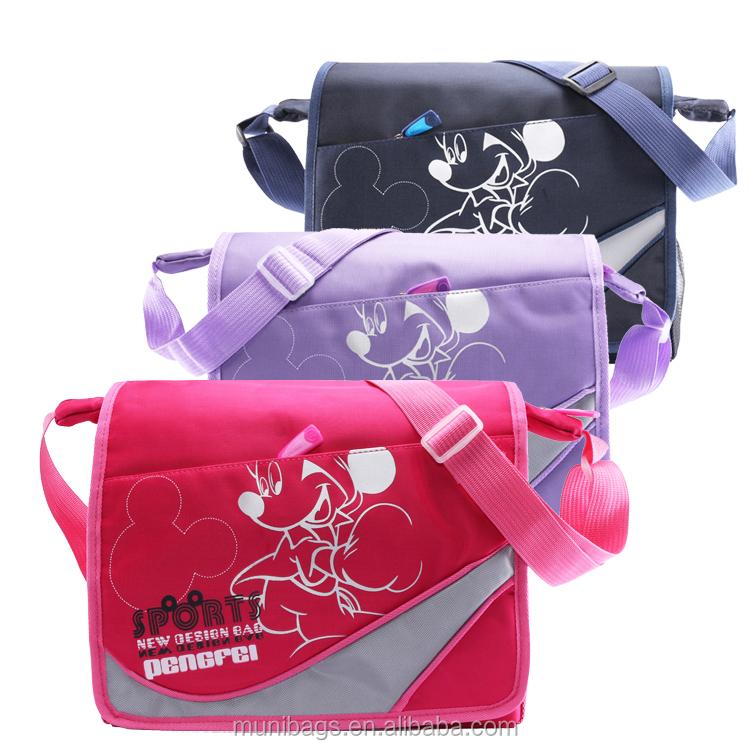 8b3c8a0f4dd Fashion Message Sling Cross Body School Bag Kids Messenger Bag ...