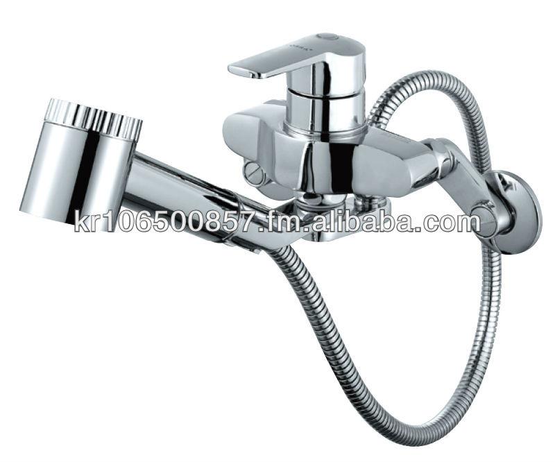 Samwon Cobra Qfs 138 Pull Out Spray Faucet Chrome Brass Kitchen