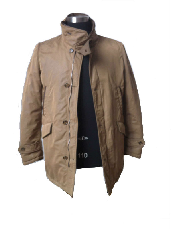 mens casual cotton jacket