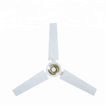Modern solar home appliances electric oscillating ceiling fan