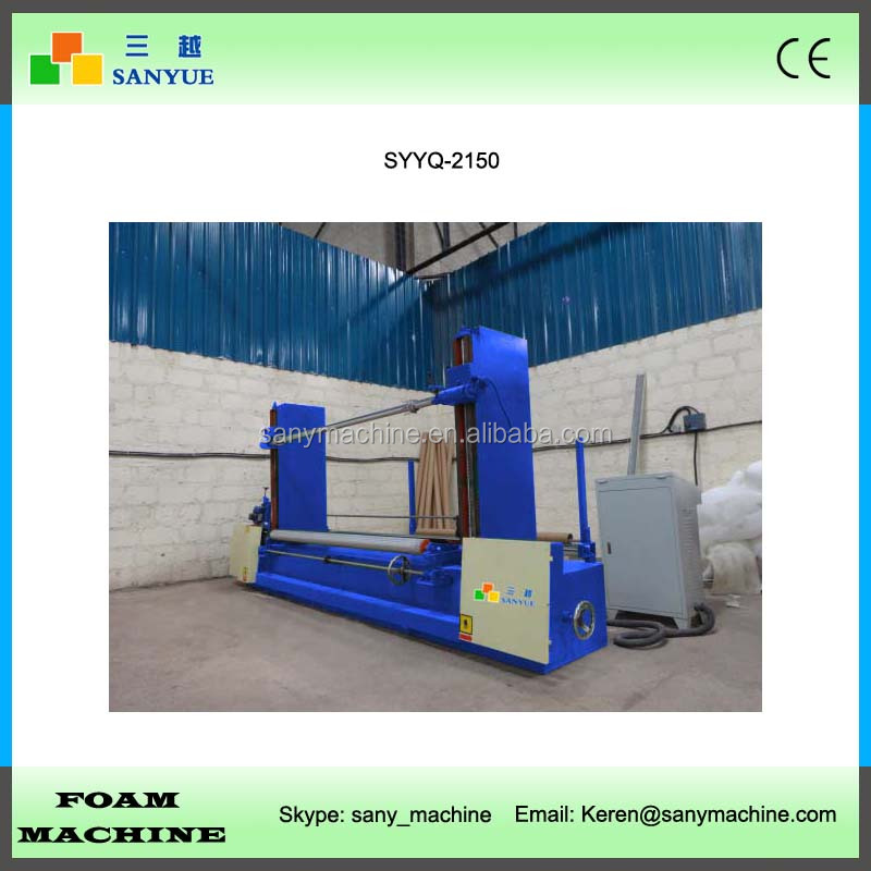 PLC Automatic Mattress Laminating Foam Peeling Machine