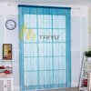 100% polyester flower cheap string curtain