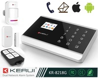 Wireless Wired GSM SMS Home Security Alarm System +PIR Sensor Protection Personal Products