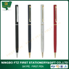 Metal Brass Slim Cross Hotel Ball Pen