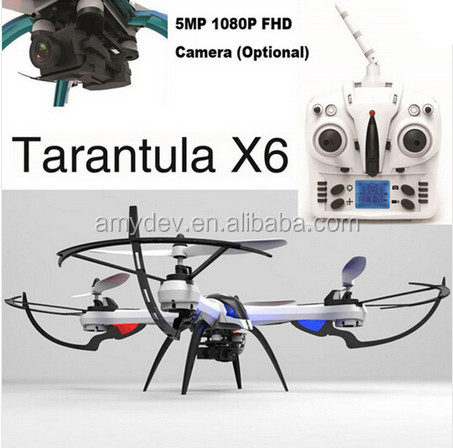 Tarantula x6 Drone RC Quadcopter Helicopter With 2MP 5MP HD Camera