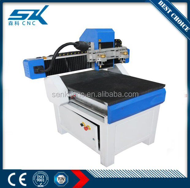 tempered glass cutting machine skq-4545 for round square with professional glass cutting head hot sale