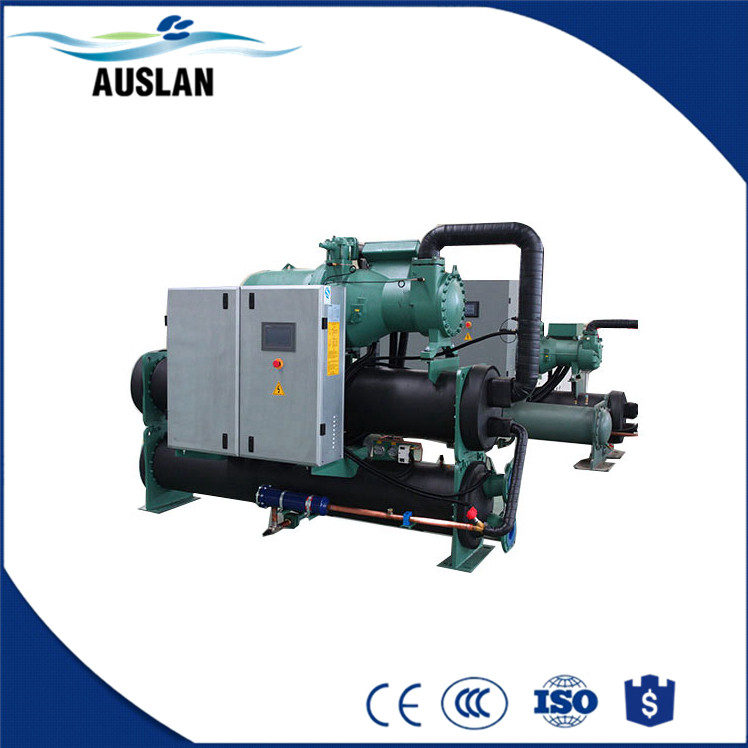 Water heater induction heat pump water cooled packaged unit