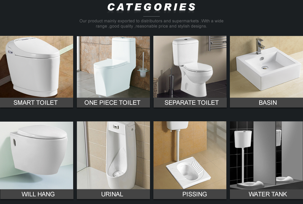 chaoan haibo ceramic co., ltd. - smart toilet,intelligent toilet - Sospesi Vanita Nero