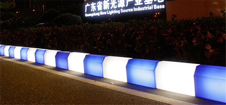 New Design Rotational Pavement curbstone led lights for roadside decorative lamp