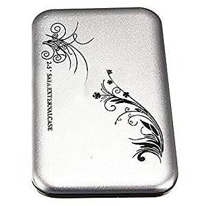 "HDD External Case - TOOGOO(R) 2.5"" Flower External Hard Drive Disk USB 3.0 SATA HDD Case Box Enclosure Silver"
