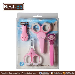 lovely shaped kids grooming kit manicure pedicure instruments for babies