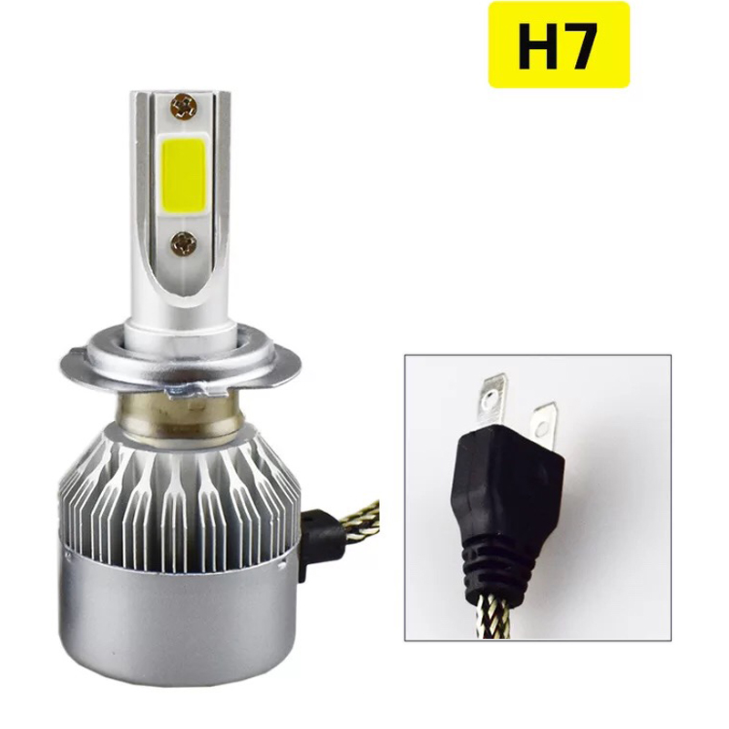 New car led headlight 36w H4 H7 H11 H1 9005 9006 led light h7 headlight in auto lighting system