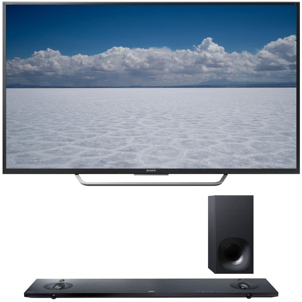 """Sony XBR-55X700D - 55"""" Class 4K Ultra HD TV + Sony HT-NT5 Sound Bar with Hi-Res Audio and Wireless Streaming"""